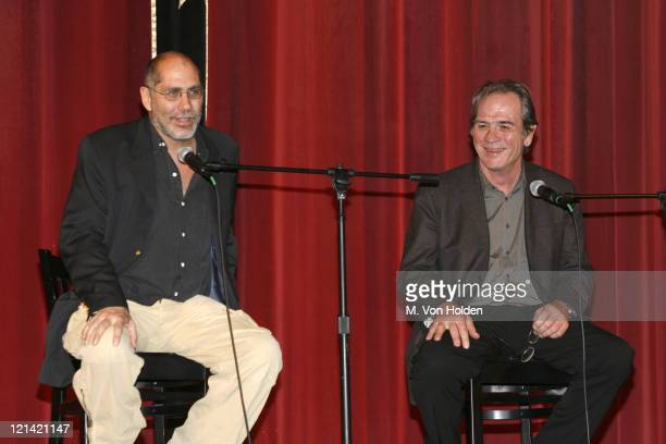 Guillermo Arriaga and Tommy Lee Jones Discussing the Writing Directing and Acting of Three Burials of Melquides Estrada