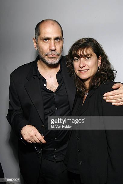 "Guillermo Arriaga, Screen Writer ""Babel"", SCAD Achievement in Cinema Award winner and Maru Arriaga, wife"