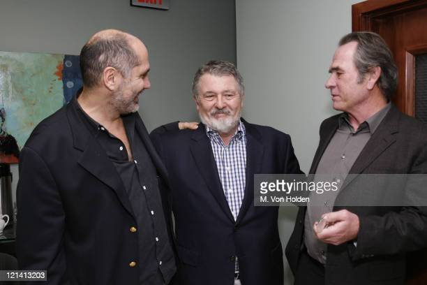 Guillermo Arriaga, Walter Hill, and Tommy Lee Jones