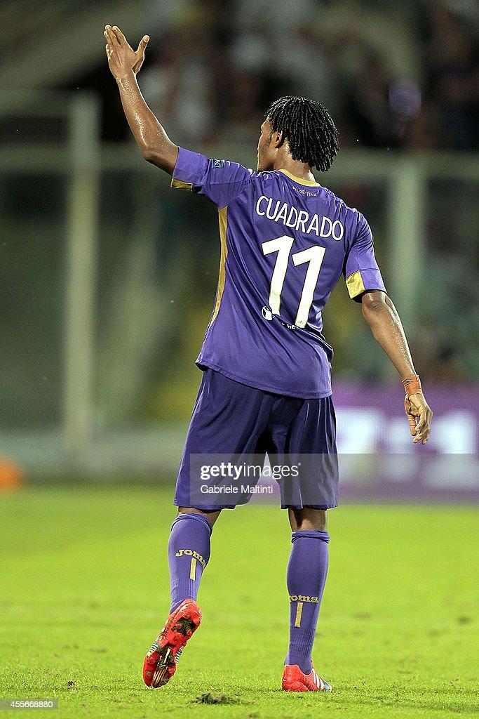 ACF Fiorentina v EA Guingamp - UEFA Europa League : News Photo