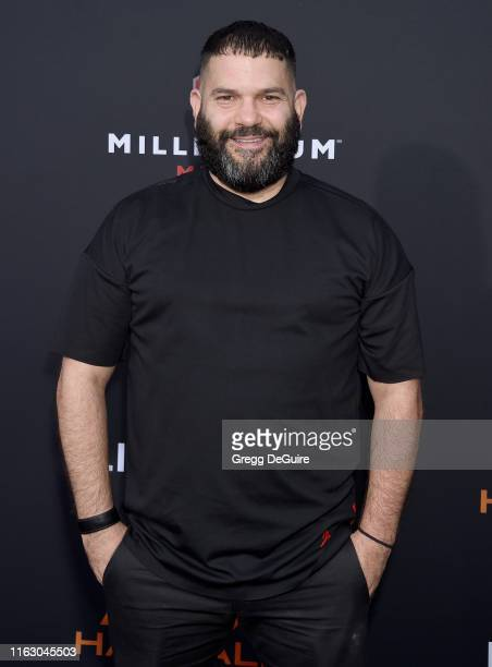 Guillermo D'az arrives at the LA Premiere Of Lionsgate's Angel Has Fallen at Regency Village Theatre on August 20 2019 in Westwood California