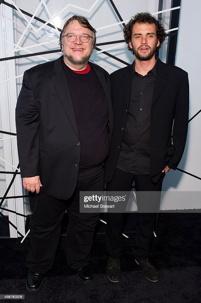 Guillermo del Toro (L) and Jonas Cuaron attend the Museum of Modern Art Film Benefit's Tribute To Alfonso Cuaron at Museum of Modern Art on November 10, 2014 in New York City.