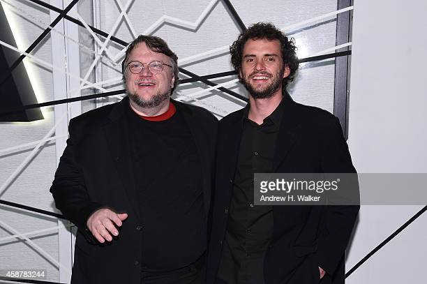 Guillermo del Toro and Jonas Cuaron attend The Museum of Modern Art's 2014 Film Benefit Honoring Alfonso Cuaron at The Museum of Modern Art on...