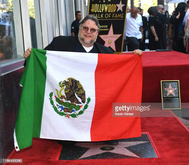 Guillermo del Toro appears at the Hollywood Walk of Fame ceremony honoring Guillermo del Toro on August 06 2019 in Hollywood California