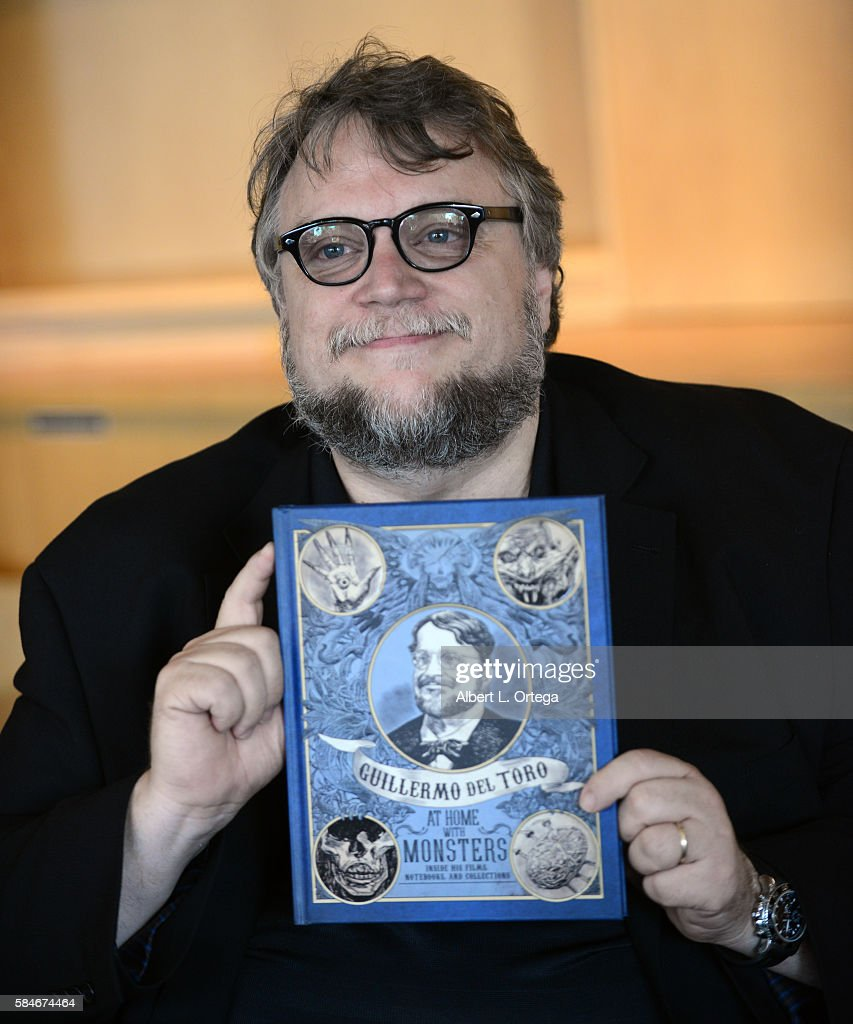 Guillermo Del Toro attends a book signing for 'Guillermo Del Toro: At Home With Monsters' held at LACMA on July 29, 2016 in Los Angeles, California.