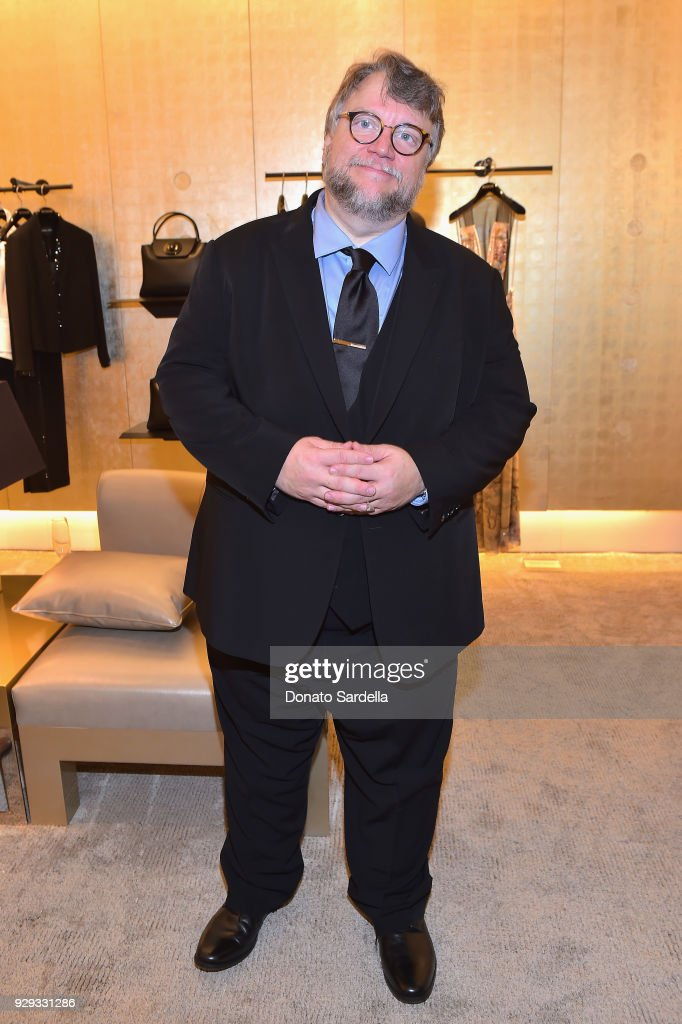 Guillermo Del Toro attends Giorgio Armani's celebration of 'The Shape of Water' hosted by Roberta Armani on March 3, 2018 in Beverly Hills, California.