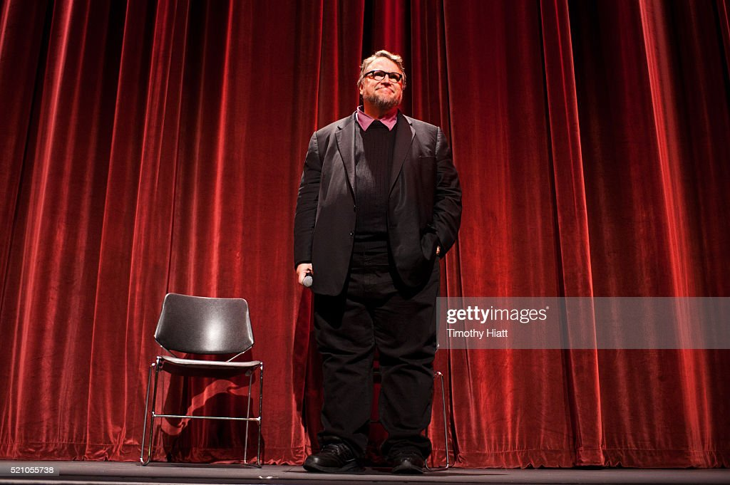 Guillermo Del Toro attends opening night for the 2016 Ebertfest on April 14, 2016 in Champaign, Illinois.