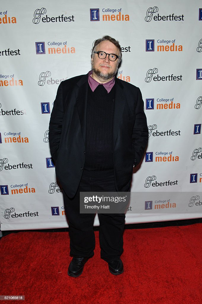 Guillermo Del Toro attends opening night for the 2016 Ebertfest on April 14, 2016 in Champaign, Illinois.