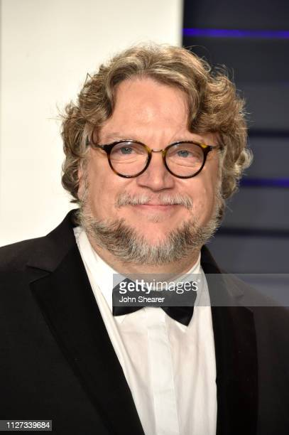 Guillermo del Toro attends the 2019 Vanity Fair Oscar Party hosted by Radhika Jones at Wallis Annenberg Center for the Performing Arts on February 24...