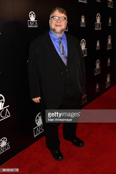 Guillermo del Toro attends the 43rd Annual Los Angeles Film Critics Association Awards on January 13 2018 in Los Angeles California