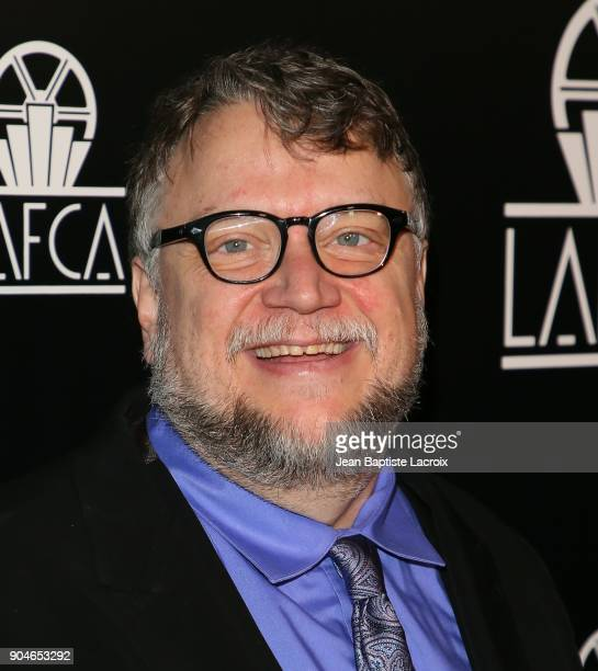 Guillermo del Toro attends the 43rd Annual Los Angeles Film Critics Association Awards on January 13 2018 in Hollywood California