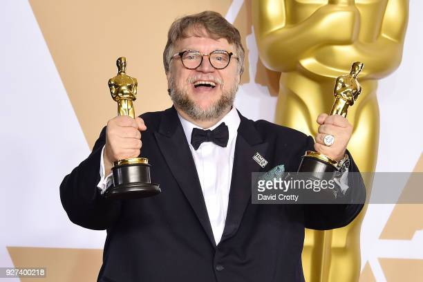 Guillermo Del Toro attends the 90th Annual Academy Awards Press Room on March 4 2018 in Hollywood California