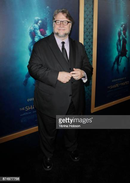 Guillermo del Toro attends the premiere of 'The Shape Of Water' at Academy Of Motion Picture Arts And Sciences on November 15 2017 in Los Angeles...