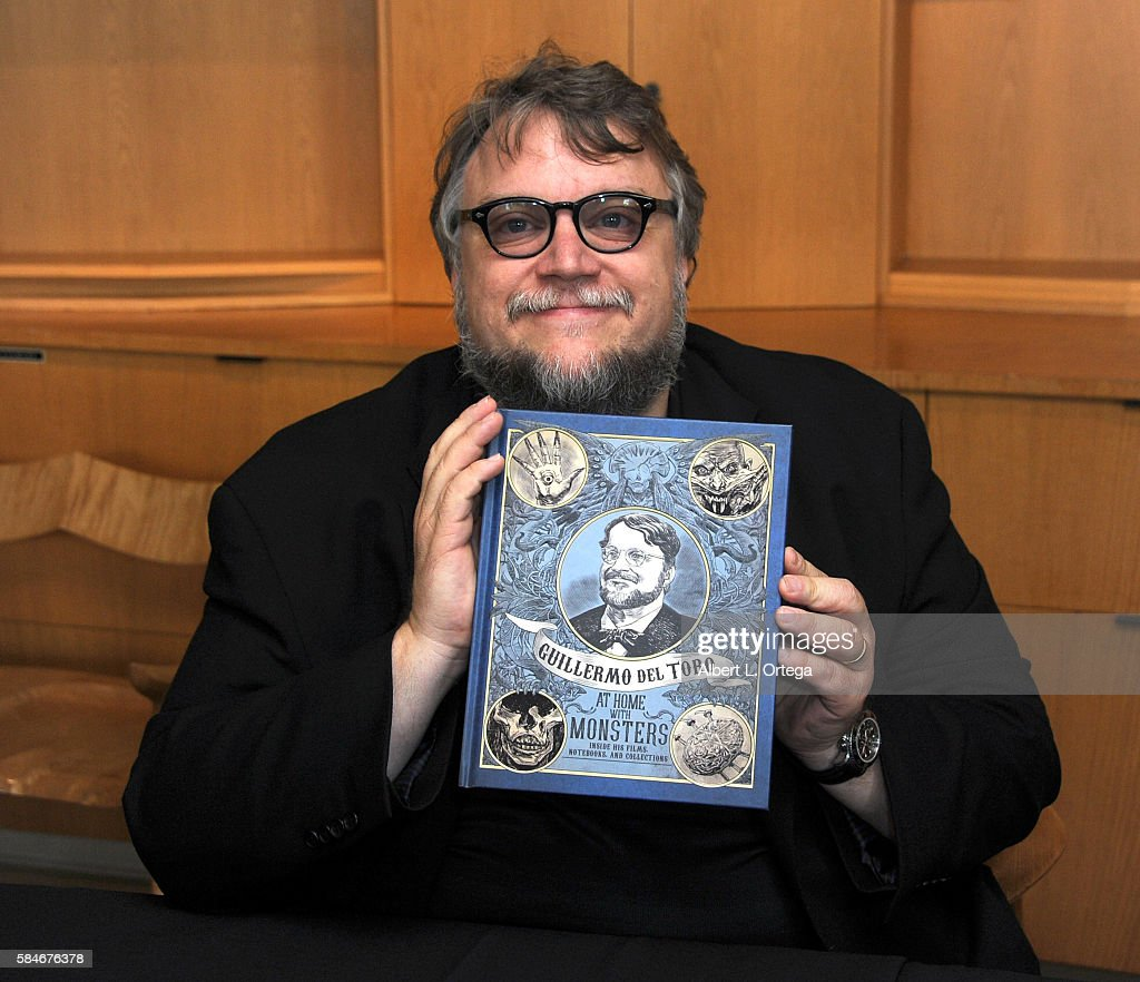 Guillermo Del Toro book signing for 'Guillermo Del Toro: At Home With Monsters' held at LACMA on July 29, 2016 in Los Angeles, California.