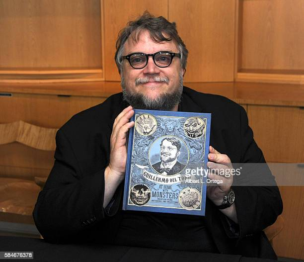 Guillermo Del Toro book signing for 'Guillermo Del Toro At Home With Monsters' held at LACMA on July 29 2016 in Los Angeles California