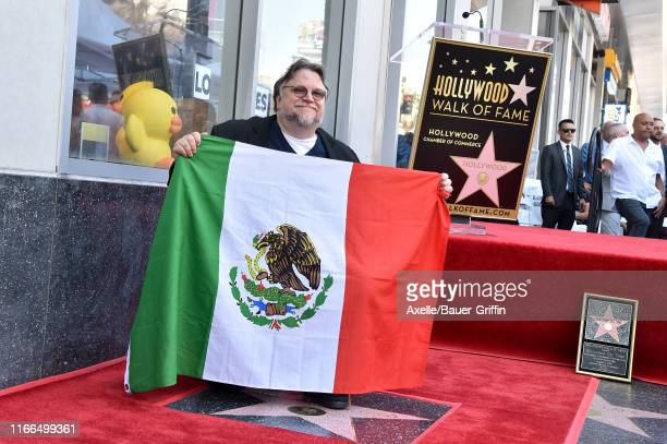 Guillermo del Toro is honored with a star on the Hollywood Walk of Fame on August 06 2019 in Hollywood California