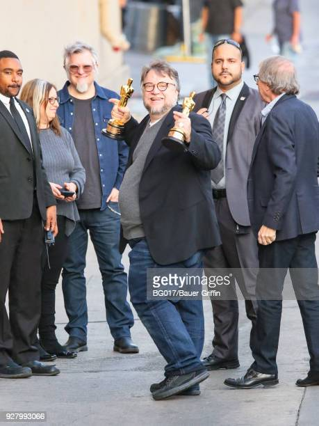 Guillermo del Toro is seen arriving at the 'Jimmy Kimmel Live' on March 05 2018 in Los Angeles California