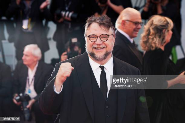Guillermo del Toro walks the red carpet ahead the Award Ceremony of the 74th Venice Film Festival at Sala Grande on September 9 2017 in Venice Italy