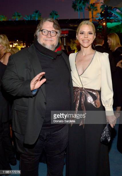 Guillermo del Toro wearing Gucci and Kim Morgan attend the 2019 LACMA Art Film Gala Presented By Gucci at LACMA on November 02 2019 in Los Angeles...