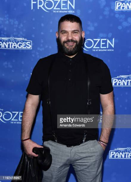 Guillermo Diaz arrives at the LA Premiere Of Frozen at the Hollywood Pantages Theatre on December 06 2019 in Hollywood California