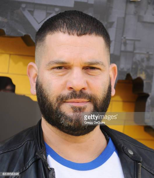 Guillermo Diaz arrives at the premiere of Warner Bros Pictures' 'The LEGO Batman Movie' at Regency Village Theatre on February 4 2017 in Westwood...