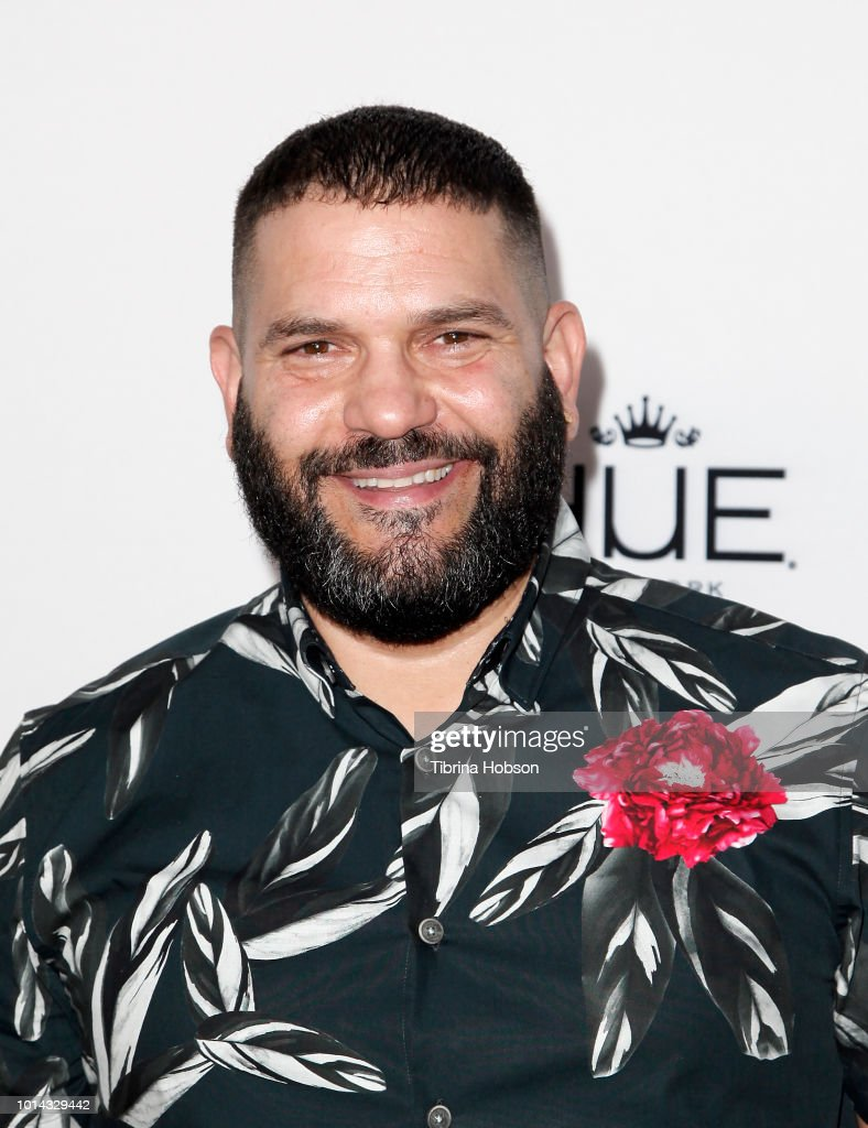 Guillermo Diaz attends the Athletes vs Cancer Smoke4aCure Event on August 9, 2018 in Inglewood, California.