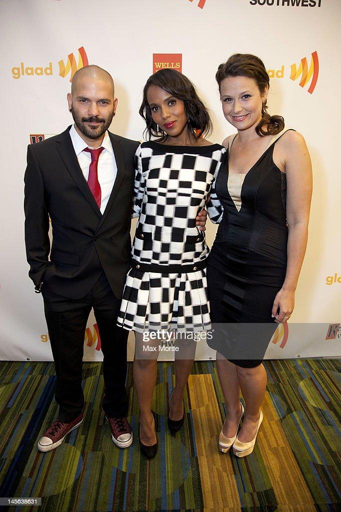 0b1da16cdcf 23rd Annual GLAAD Media Awards Presented By Ketel One And Wells Fargo -  Backstage. SAN FRANCISCO, CA - JUNE 02: Guillermo Diaz, Kerry Washington ...