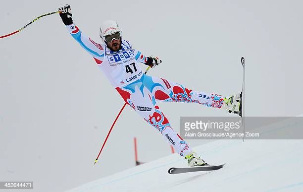 Guillermo Fayed of France during the Audi FIS Alpine Ski World Cup Men's Downhill on November 30 2013 in Lake Louise Canada