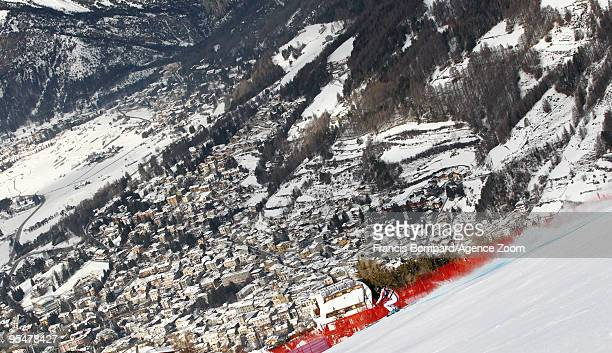 Guillermo Fayed of France during the Audi FIS Alpine Ski World Cup Men's Downhill on December 29 2009 in Bormio Italy