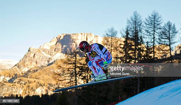 Guillermo Fayed of France during the downhill race at the Audi FIS Alpine Ski World Cup on December 19 2015 in Val Gardena Italy