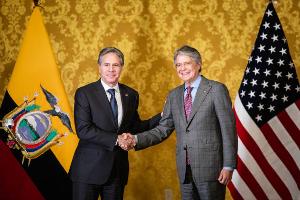 ECU: U.S. Secretary Of State Blinken Meets With President Guillermo Lasso
