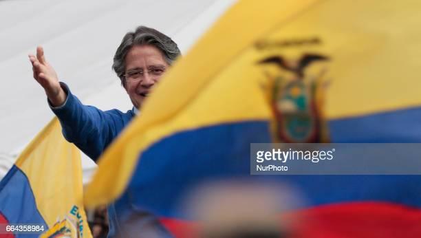 Guillermo Lasso in Quito Monday April 3 2017