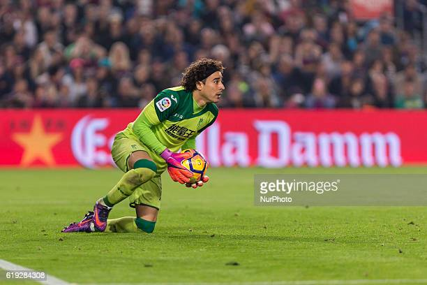 Guillermo Ochoa during the match between FC Barcelona vs Granada CF for the round 10 of the Liga Santander played at Camp Nou Stadium on 29th Oct...