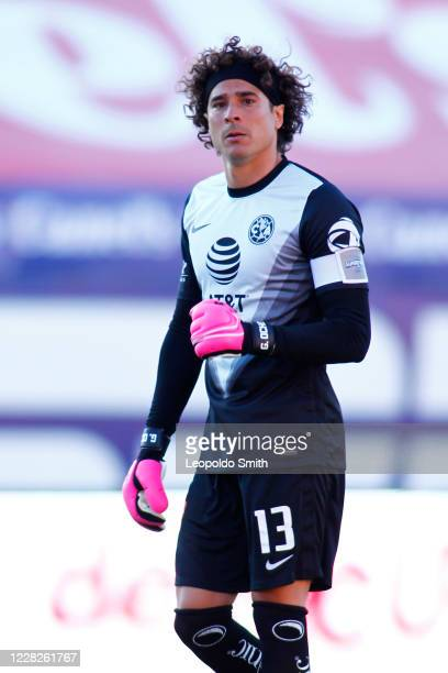 Guillermo Ochoa goalkeeper of America looks on during the 7th round match between Atletico San Luis v America as part of the Torneo Guard1anes 2020...