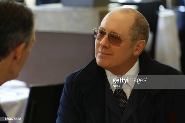 THE BLACKLIST Guillermo Rizal Episode 620 Pictured James Spader as Raymond Red Reddington