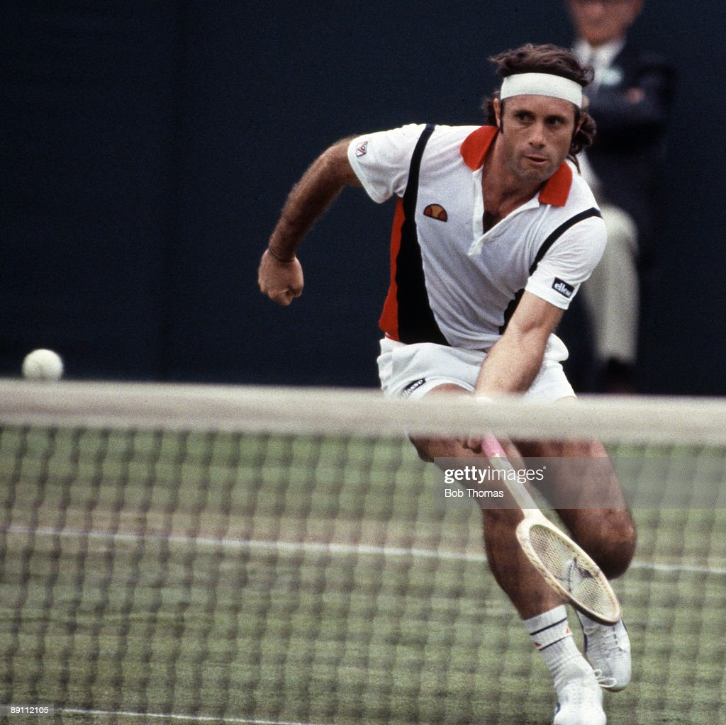 Guillermo Vilas : News Photo