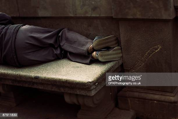 guilty feet have got no rhythm - homeless stock photos and pictures