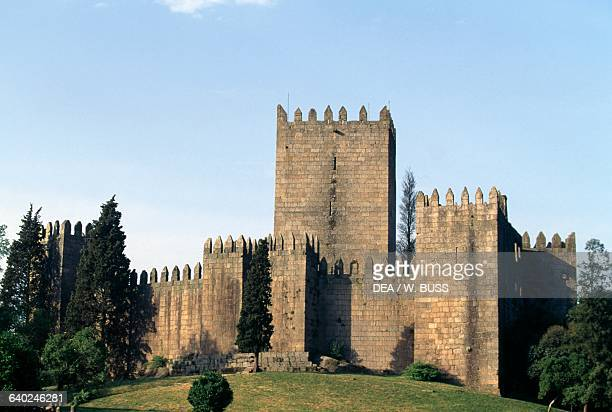 Guimaraes castle Norte Portugal 10th11th century