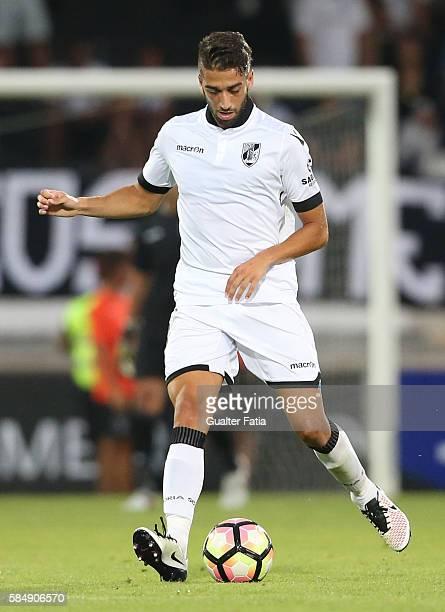 Guimaraes's defender Josue Sa in action during the Guimaraes City Trophy match between Vitoria de Guimaraes and FC Porto at Estadio D Afonso...
