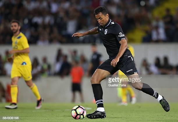 Guimaraes's defender Pedro Henrique in action during the Guimaraes City Trophy match between Vitoria de Guimaraes and FC Porto at Estadio D Afonso...