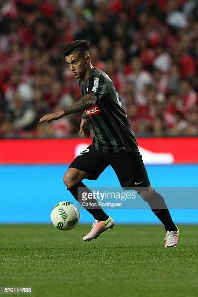 Guimaraes's midfielder Otavio during the match between SL Benfica and Vitoria de Guimaraes for Portuguese Primeira Liga at Estadio da Luz on April 29...