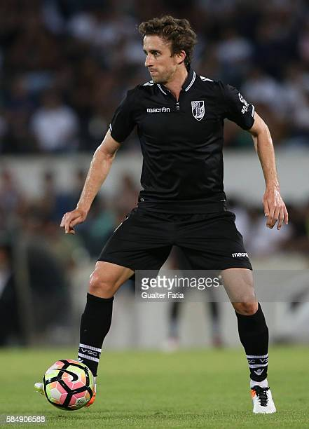 Guimaraes's midfielder Rafael Miranda in action during the Guimaraes City Trophy match between Vitoria de Guimaraes and FC Porto at Estadio D Afonso...