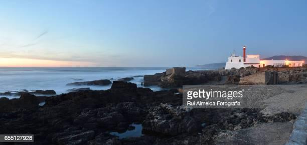 Guincho beach and lighthouse