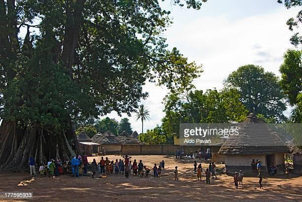 Guinea, Diaragbela, village near Kouroussa