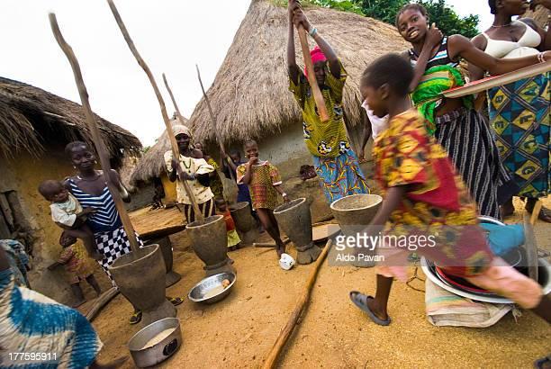 Guinea, village near Kobikoro