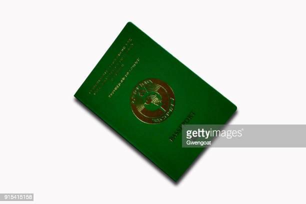 guineas pass isolerad på en vit bakgrund - gwengoat bildbanksfoton och bilder