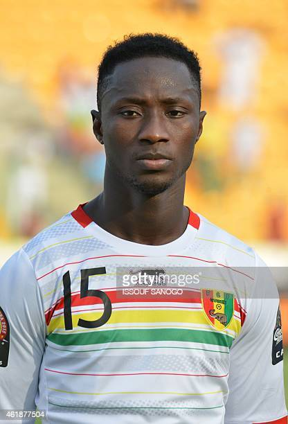 Guinea's midfielder Naby Keita poses ahead of the 2015 African Cup of Nations group D football match between Ivory Coast and Guinea in Malabo on...