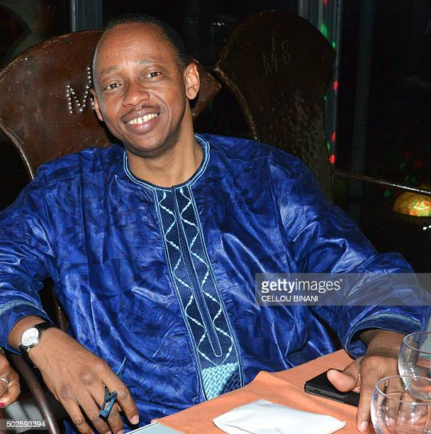 Guinea's newly appointed Prime Minister Mamady Youla attends a gala event in Conakry on December 25 on the eve of his nomination Guinea's President...