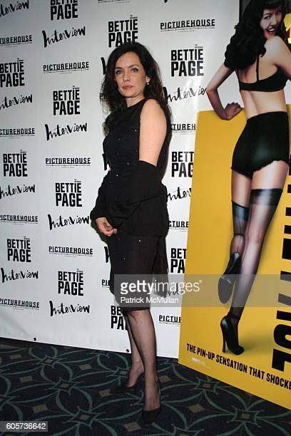 Guinevere Turner attends The New York Premiere of THE NOTORIOUS BETTIE PAGE hosted by INTERVIEW Magazine and Picturehouse at AMC Loews 19th St. On...