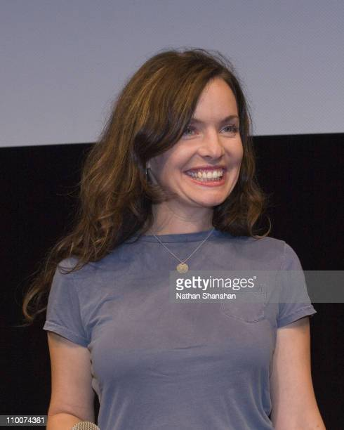 Guinevere Turner during The 14th Tokyo International Lesbian & Gay Film Festival - Talk Event at Spiral Hall in Tokyo, Japan.